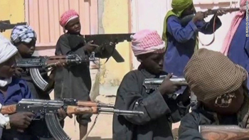 boy soldiers trained by Boko Haram