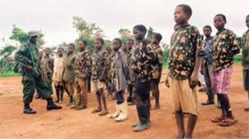 Boy soldiers rescued by Chad's army