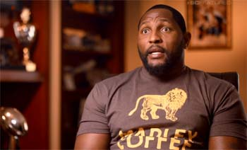 NFL star Ray Lewis