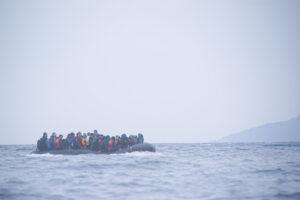 Many refugee boats were overcrowded