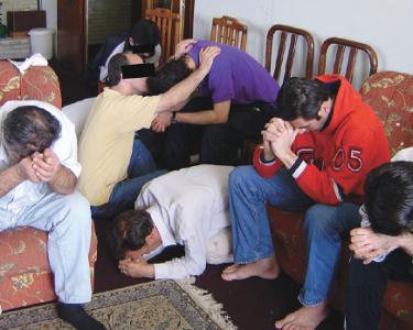 Underground believers in Iran
