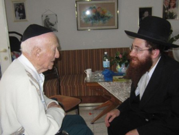 meeting with rabbi