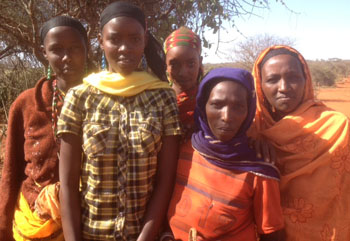 Women near Moyale, Ethiopia