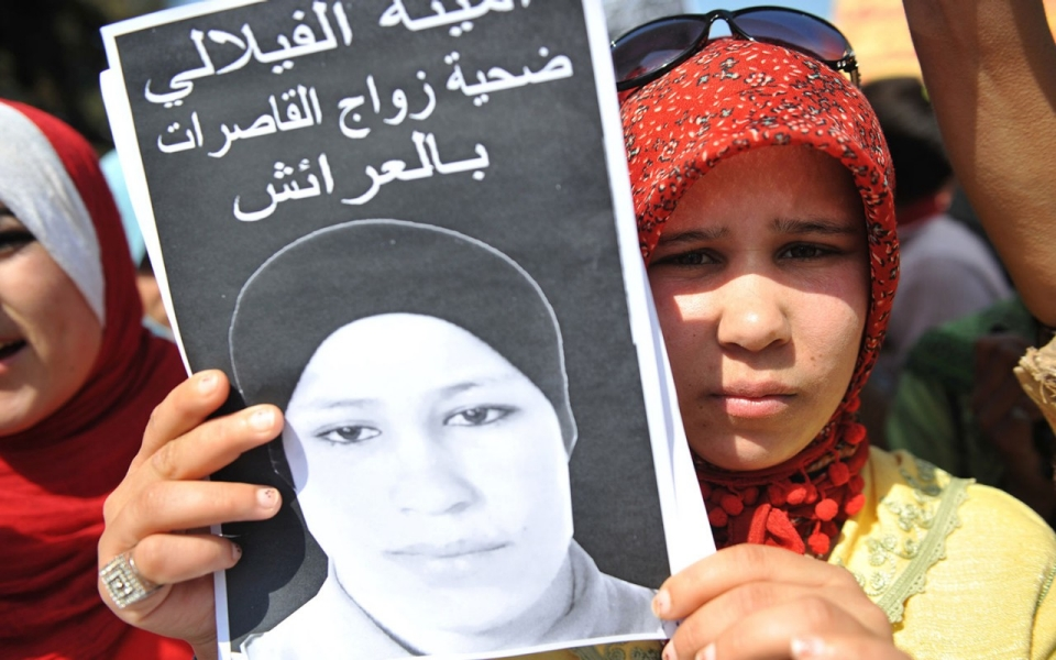Protests in Morocco led to the changing in 2014 of a law that allowed rapists to escape punishment by marrying their victims.