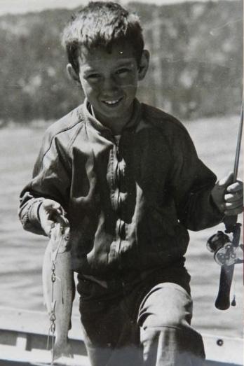 Walter Heyer as a boy
