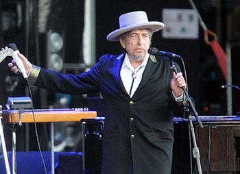 Dylan in concert