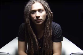 "Jason Castro in ""I Am Second"" video"