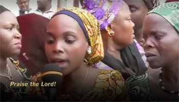 Helen Musa, one of many Christian girls released