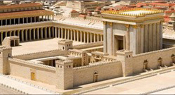 Model of coming Third Temple
