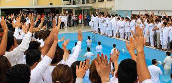 Baptism near Iran