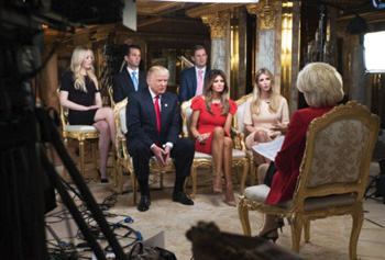 Trump family on 60 Minutes