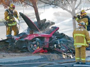 Paul Walker Porsche accident
