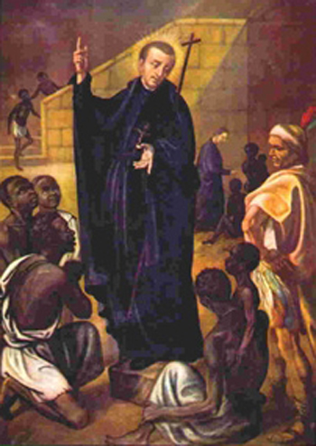 He ministered to slaves on slave ships, baptized 300,000