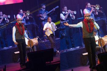 Juan Luis Guerra and his band
