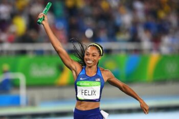 how many gold medals has allyson felix won