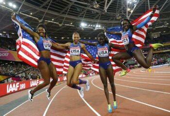 Morolake Akinosun olympic gold medal